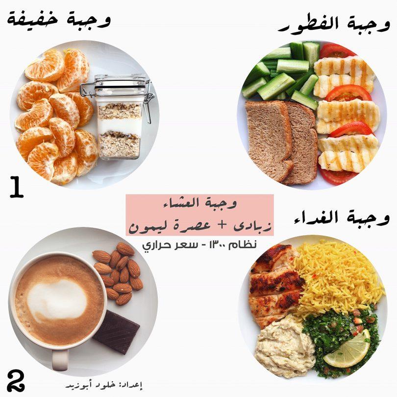 نظام غذائي لخسارة الوزن خلود ابوزيد