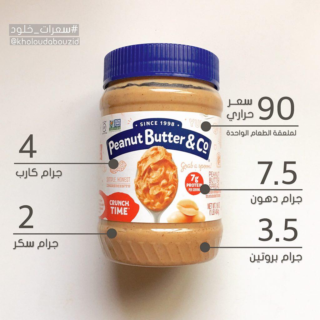 السعرات الحرارية في زبدة الفول السوداني خلود ابوزيد